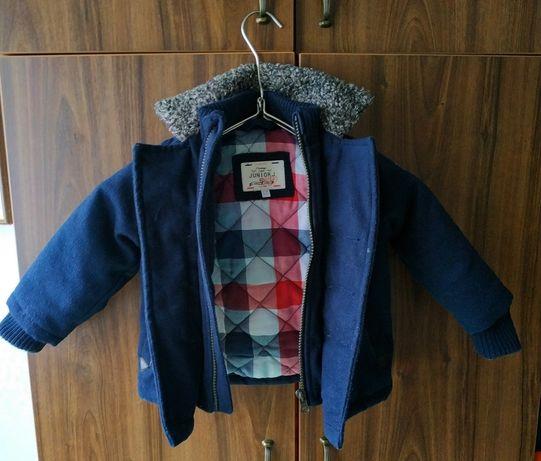 Полупальто пальто Junior J 12-18 мес 86 размер Деми демисезонная Next