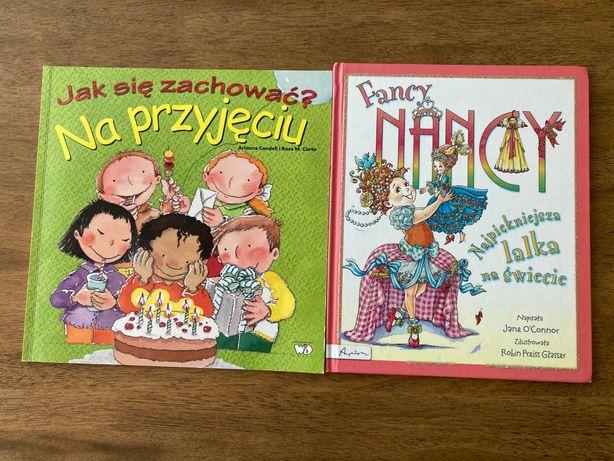 Zestaw 2 książek dla dziewczynki
