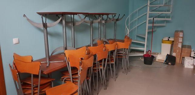 Mobiliário café pastelaria usado