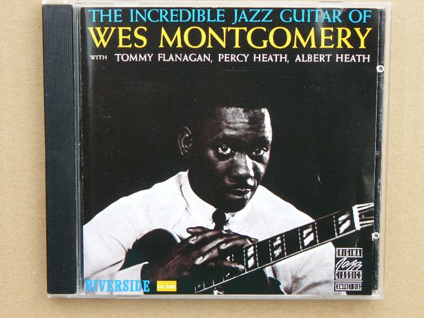 cd Wes Montgomery – The Incredible Jazz Guitar of Wes Montgomery 1987