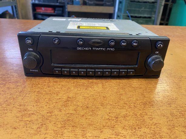 Radio Becker Traffic Pro z kodem