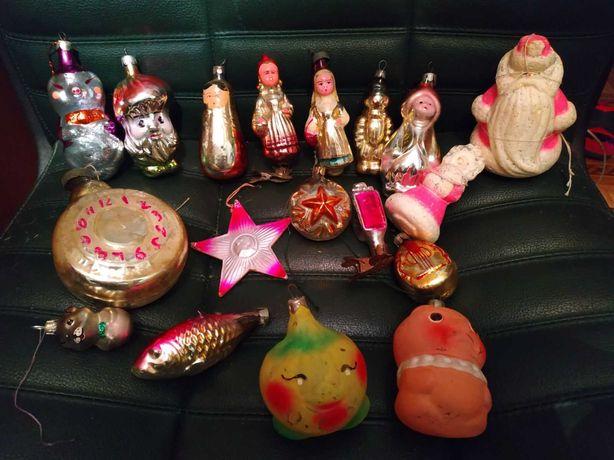 Продам антиквариат ёлочные игрушки