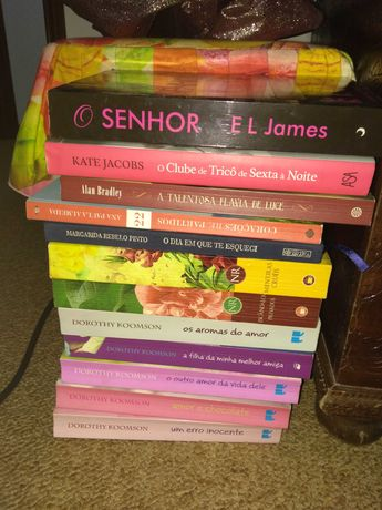 Livros varios , preco cada livro