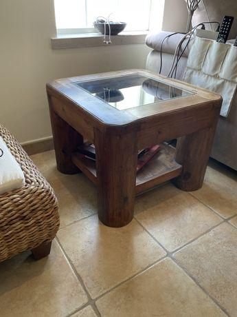 Mesa de apoio madeira mexicana