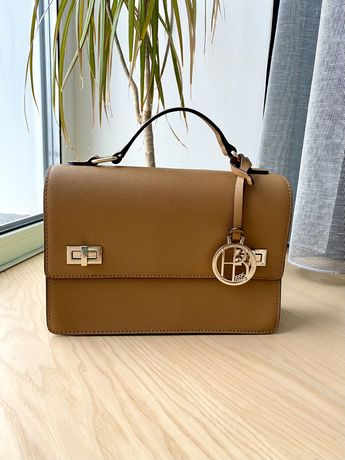 Кожаная сумка Henri Bendel