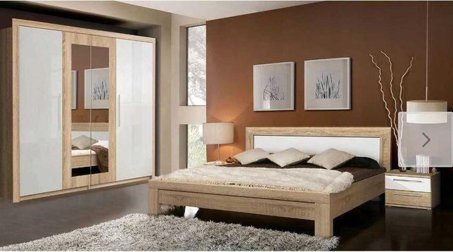 Łóżko sypialnia 160x200 julietta szafki nocne