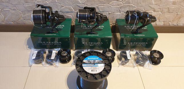 3 X Shimano Ultegra 14000 XTD plus zylka