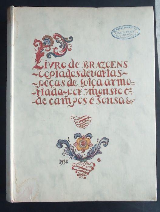 livro de brasões / jose de campos e sousa