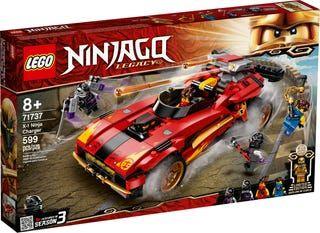 LEGO Ninjago 71737 - X1 Ninja Charger - NOVO