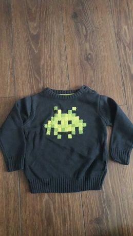 Nowy sweterek chłopięcy, rozmiar 86.