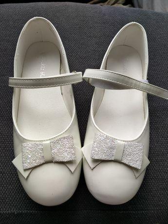 Buty balerinki białe komunijne rozmiar 36 CCC