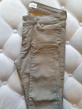 Zara spodnie woski khaki 36