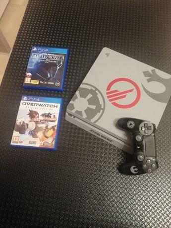 Konsola PS4 Slim 1TB STAR WARS EDITION+2 gry