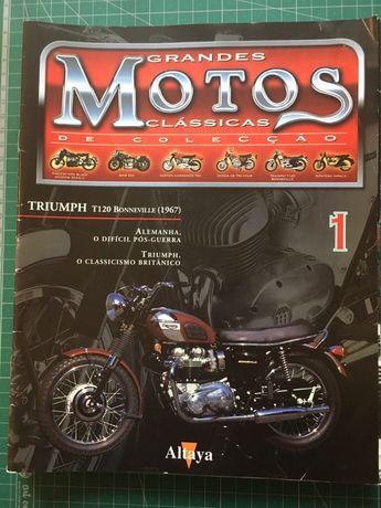 Coleção de fascículos Motos Clássicas