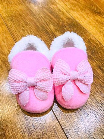 Пинетки для девочки тапки туфли туфельки ботинки 13 см