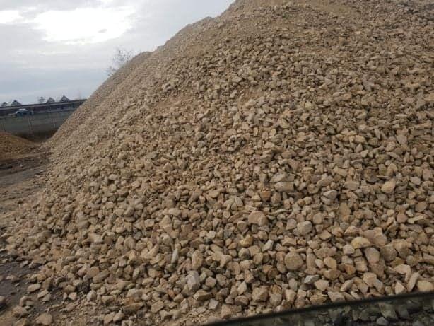 Kamień budowlany, kruszywo drogowe, kamień pod kostkę, piasek, ziemia