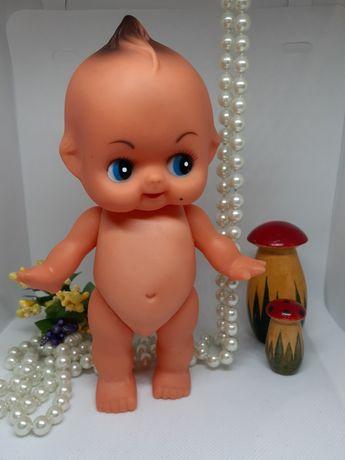 Кукла Кьюпи Kewpie ГДР, 70-80-е, винтаж винил пупс 15 см пупсик голыш
