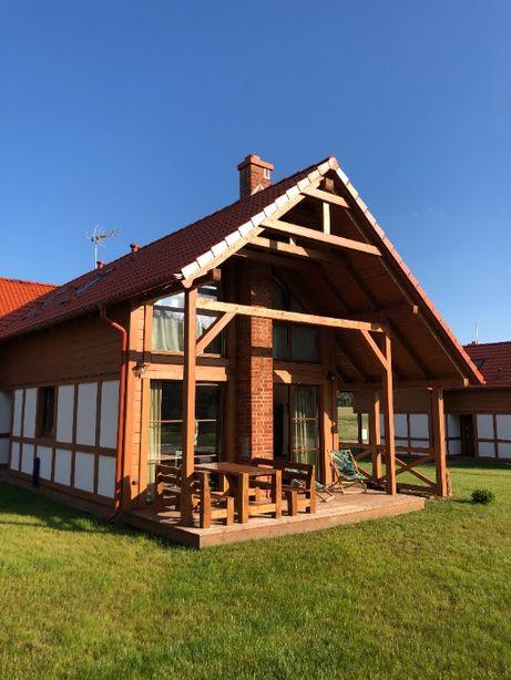 Kaszubski Dom nad jeziorem - Borowy Młyn