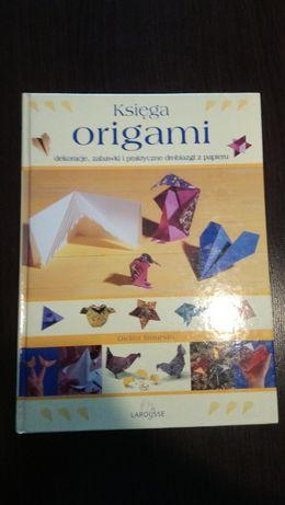 Księga Origami - dekoracje, zabawki i praktyczne drobiazgi z papieru