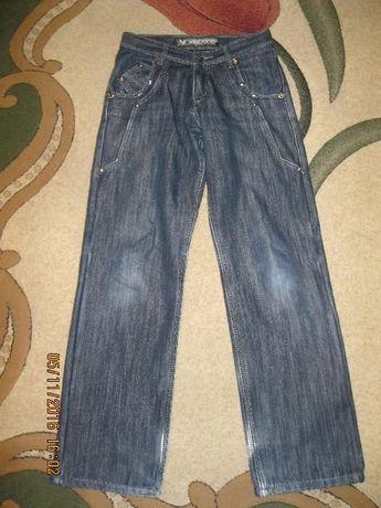 Утепленные джинсы на флисе на мальчика р. W27 L34