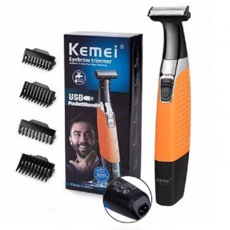 Триммер универсальный для стрижки волос бороды и усов Kemei KM-1910