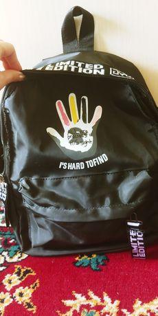 Рюкзак класический, черный.