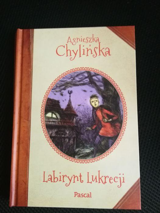 """Książka ,,Labirynt Lukrecji"""" Agnieszka Chylińska Kobyłka - image 1"""