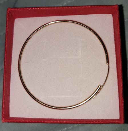 Złoty kolczyk koło 4,5 cm jeden pr. 333