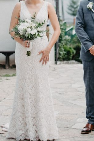 Sprzedam Suknię Ślubną MONICA LORETTI- model TIZIANA