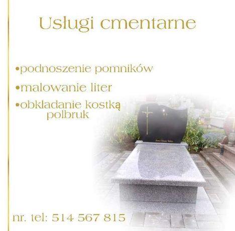 Usługi Cmentarne cmentarz nagrobki