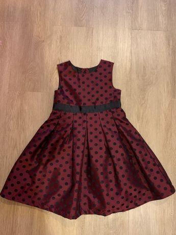 Нарядное платье для девочки рост 116 Marks&Spenser