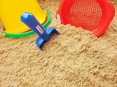 piasek do piaskownicy i małych remontów