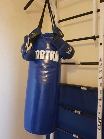 Груша боксерская перчатки