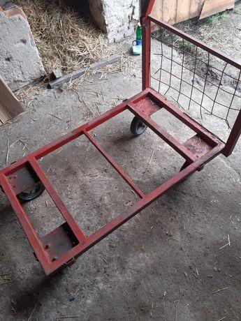 Wózek magazynowy rolniczy transportowy