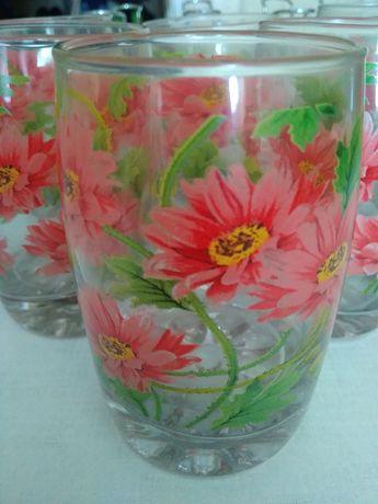 Набор стаканов (6 шт.)+ подставка -держатель для них