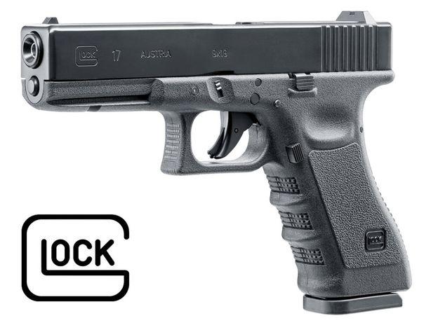 Wiatrówka Pistolet CO2 Glock 17, Blow Back, 4,5 mm diabolo i BB 5.8365