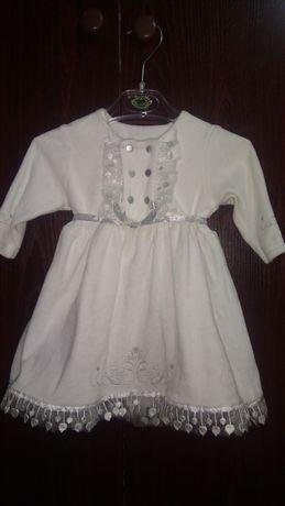Нарядное платье 62 размер идеально для крестин