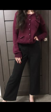 Шерстяные брюки штаны клеш toni zara bershka германия