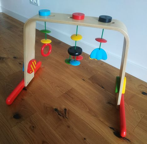 IKEA LEKA Drewniana zabawka
