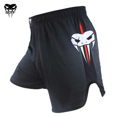 Spodenki Do MMA Muay Thai Kick Boxingu Stylizowane na Venum L