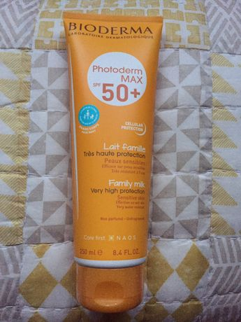 Protetor solar Bioderma Photoderm MAX 50+ familiar 250 ml - SELADO
