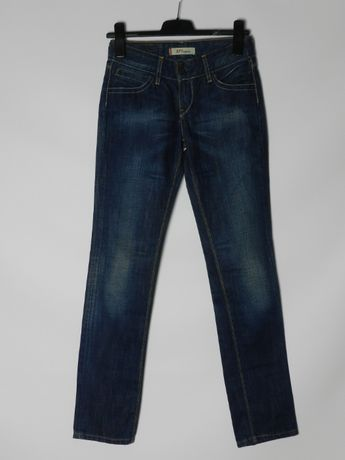 Levis 571 Slim Fit жіночі сині джинси, 26/32