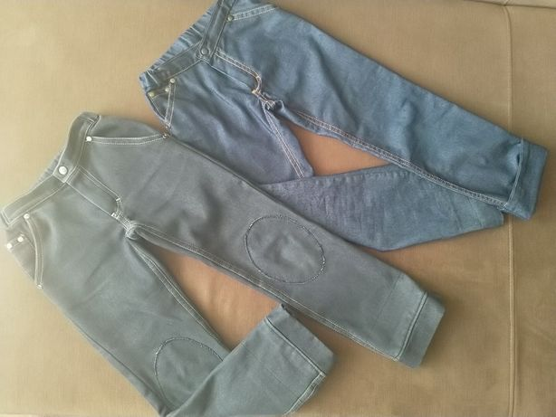 Джинсы, школьные брюки, рост 112-120, зима, весна