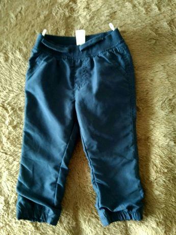 Штаны спортивные новые Италия р. 92,джинсы Сhicco р.92