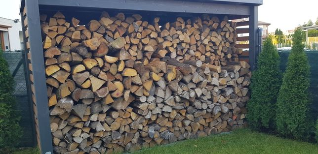 Drewno kominkowe / drewno opałowe ! Dąb / Akacja
