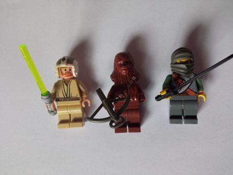 Ludziki Lego figurki Ludzik figurka Star Wars Chewbacca Obi Wan