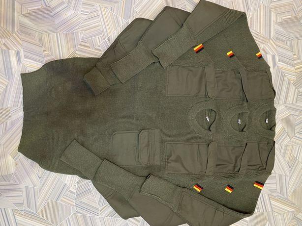 НОВЫЙ! Свитер шерсть 48,50р,армии Германии бундесвер,Bundeswehr,Bundes