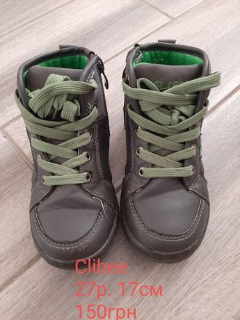 Ботинки 27р. Clibee
