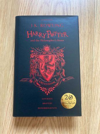 Harry Potter e a Pedra Filosofal 20º aniversário Inglês