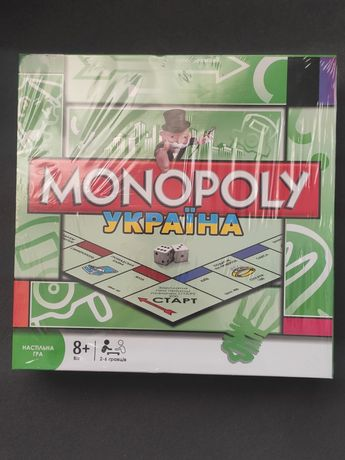 Игра для детей школьного возраста и всей семьи Монополия Украина